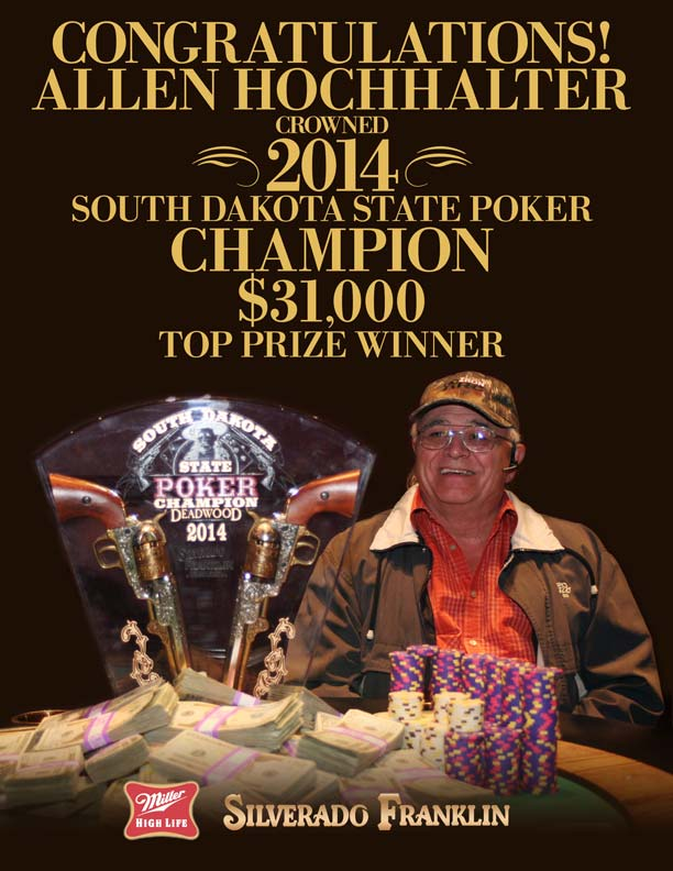 SD State Poker Champion 2014