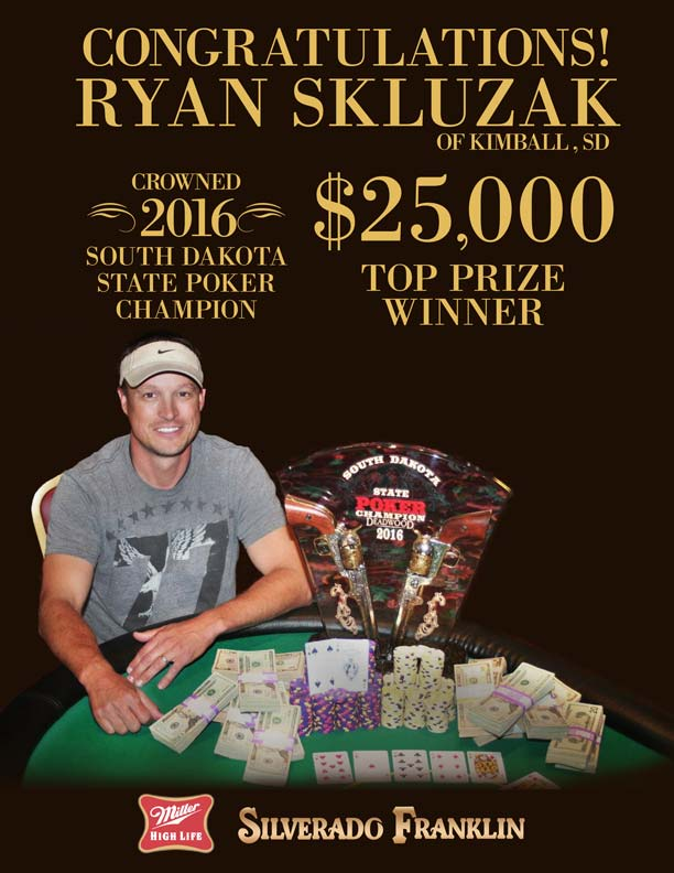 SD State Poker Champion 2016