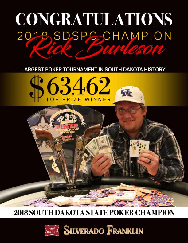 SD State Poker Champion 2018