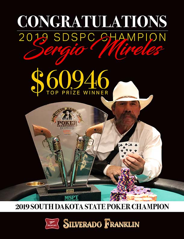 SD State Poker Champion 2019