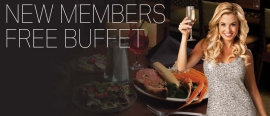 New Members Free Buffet