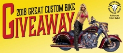 2018 Great Custom Bike Giveaway